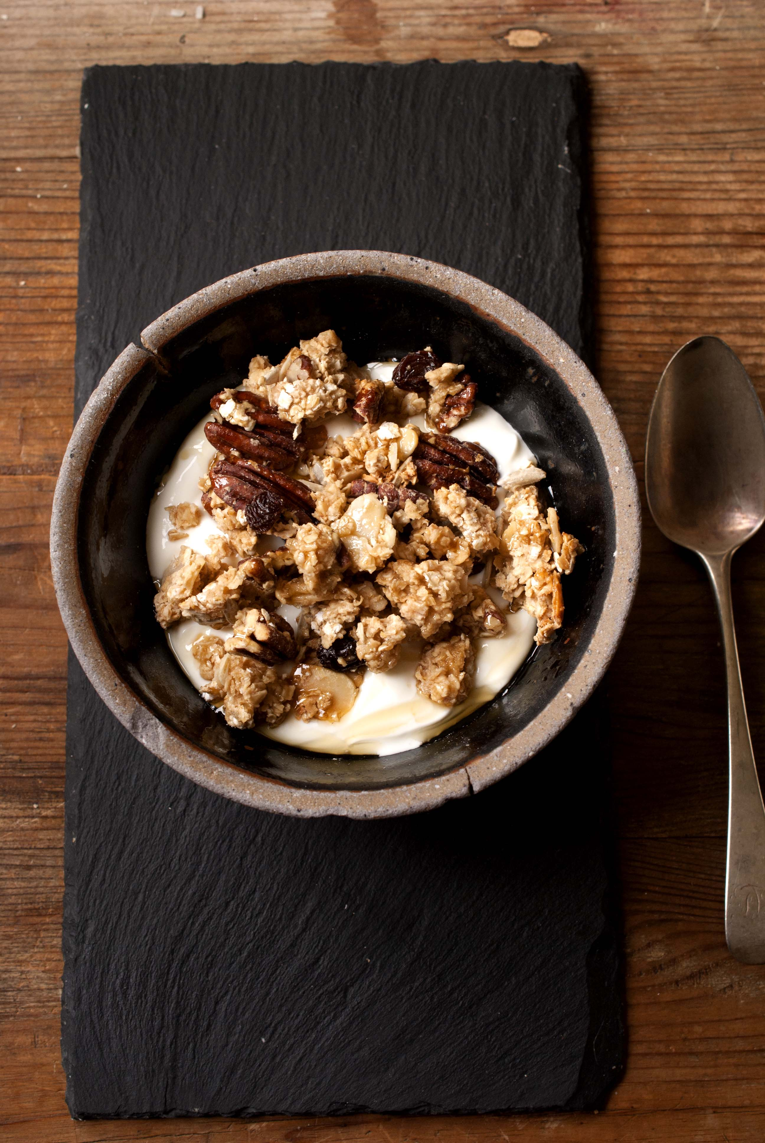 Pecan and Maple Syrup Granola | A Fanatical Foodie
