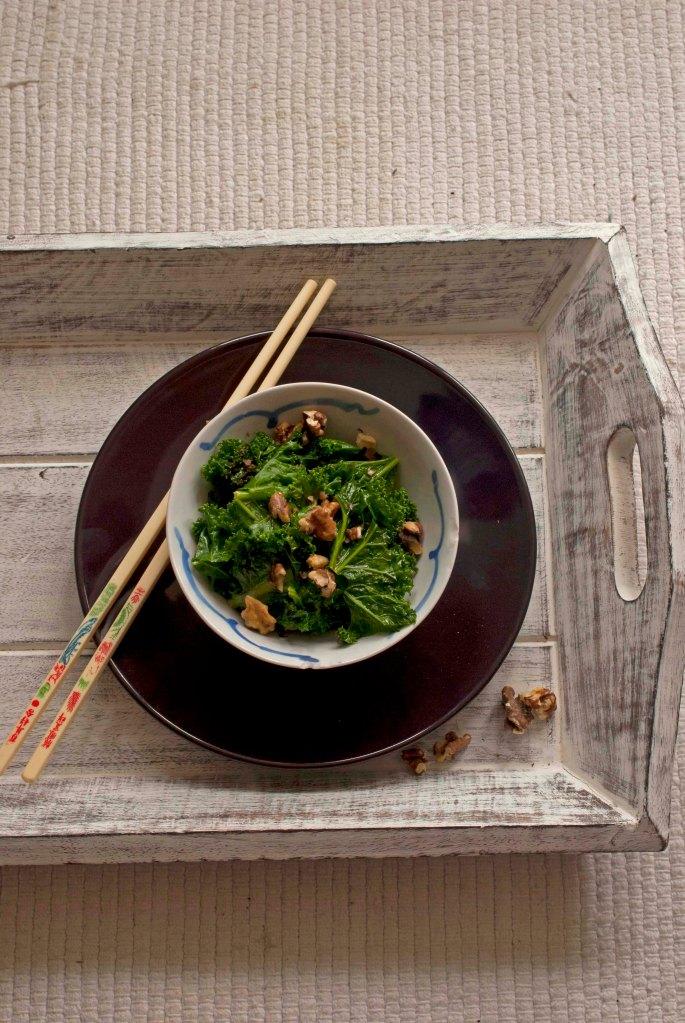 kale and chopsticks